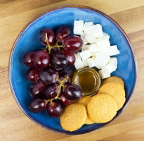 Parmesan Feta Grapes